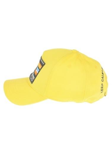 Pixter&Bro Pixter&Bro Tekli Şapka Sarı